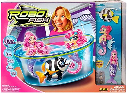 Robo Fish - Mermaid & Seahorse Playset by Zuru