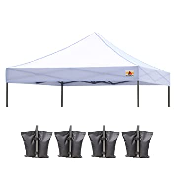 (23+ colors)100% Waterproof AbcCanopy 10x10 Replacement Top Cover for 10x10 Pop  sc 1 st  Amazon.com & Amazon.com : (23+ colors)100% Waterproof AbcCanopy 10x10 ...