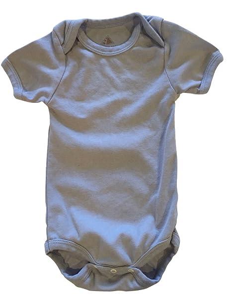 Amazon.com: Bebé de manga corta algodón egipcio orgánico ...
