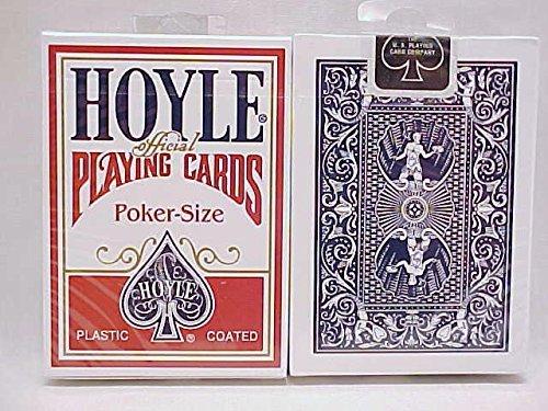 Playing Hoyle Card - Hoyle Poker Size Playing Cards (Pack of 2)