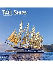 Tall Ships 2019 Square Wall Calendar