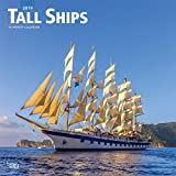 Tall Ships 2019 12 x 12 Inch Monthly Square Wall Calendar, Boat Sailing (Multilingual Edition)