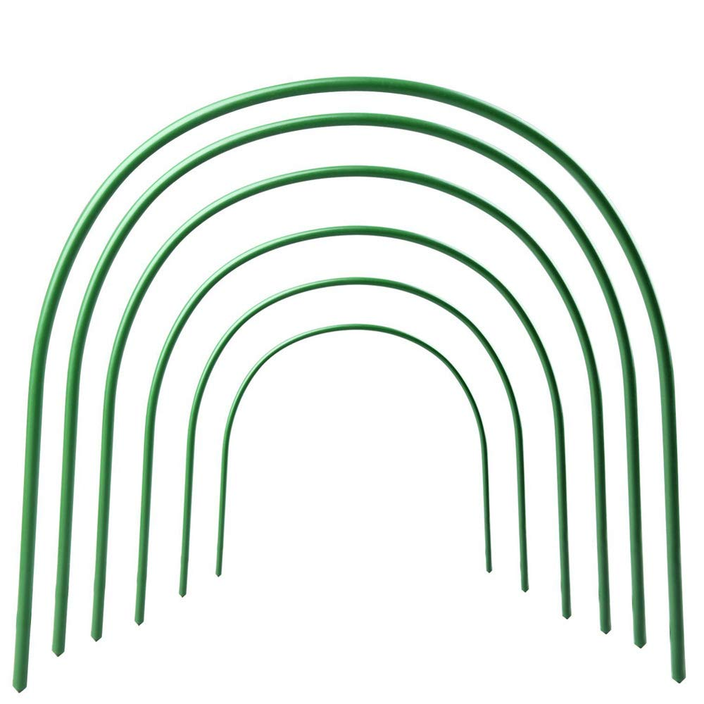 Mofvg Row Tunnel Hoop Greenhouse Garden Hoops Grow Support House Tunnels Gardening Houses Growing Frame