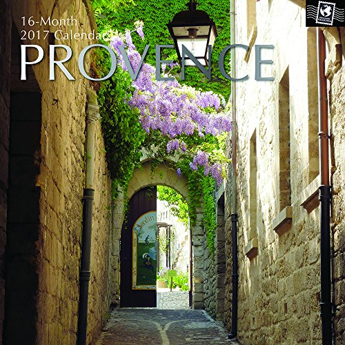 "Beautiful Scenic Photographs of Provence France 2017 Monthly Wall Calendar, 12"" x 12"""