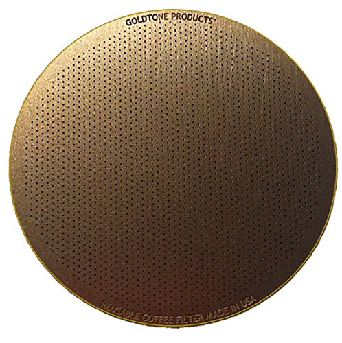 GoldTone Disk Coffee Filter Aeropress