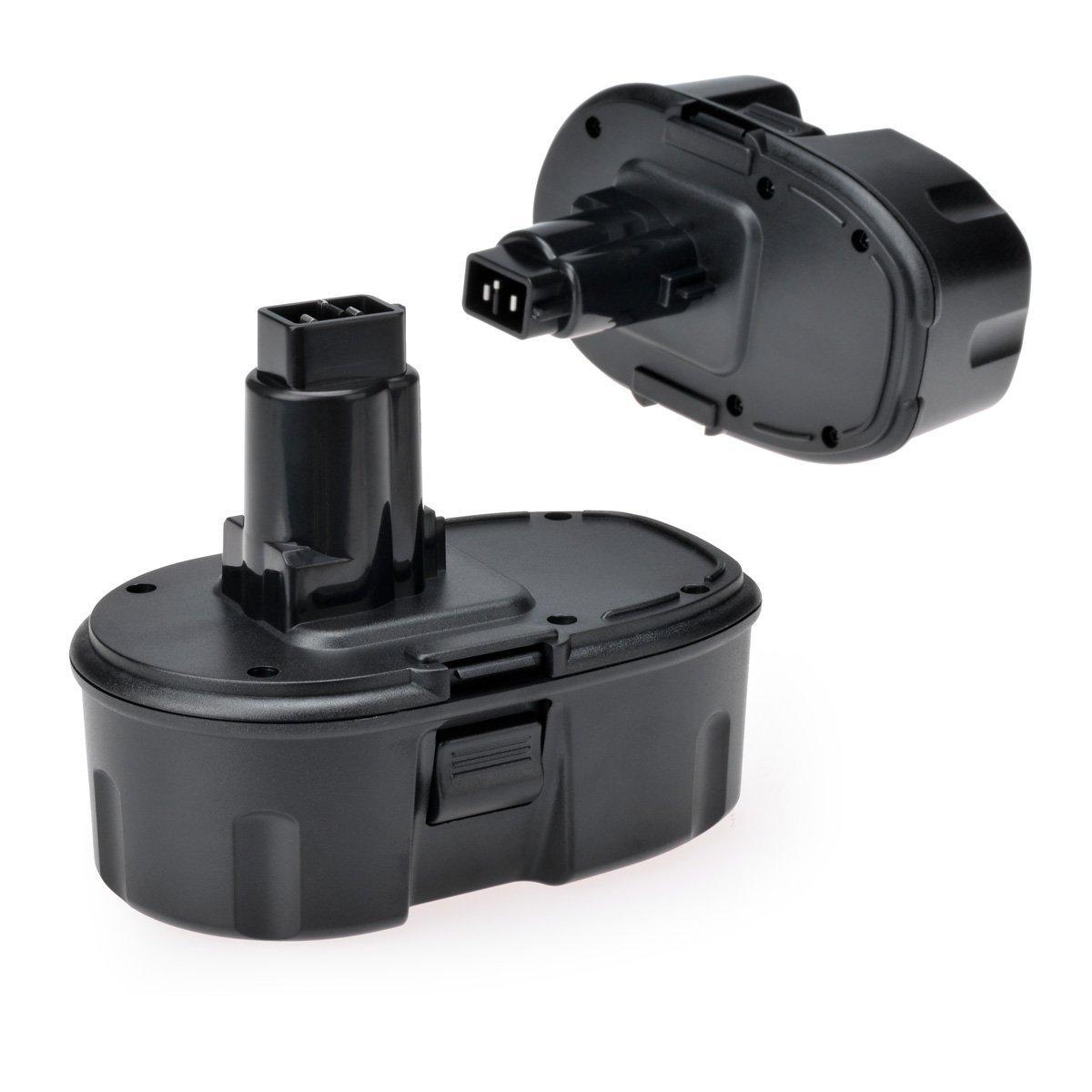 Tools Battery - InnerTeck 2 Pack 18V Replacement Battery for Dewalt DC9096 DE9039 DE9095 DE9096 DE9098 DW9095 DW9096 DW9098 DE9503