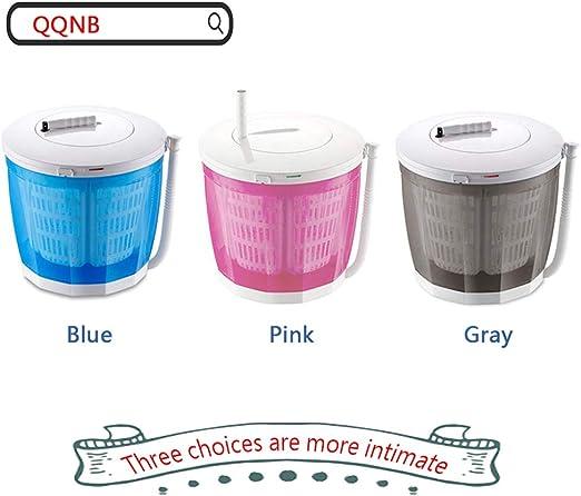 Amazon.com: QQNB Mini lavadora manual, lavadora de encimera ...