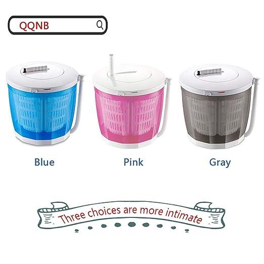 QQNB Mini Lavadora Manuales,Secadora de Mostrador,Lavadoras ...