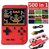 JAMSWALL Handheld Game Console, 500 Classical FC Games 3.0-Inch Screen 800mAh Rechargeable Battery Portable Retro Video Game Console Support for Connecting TV and Two Players[2020 Upgraded Version]