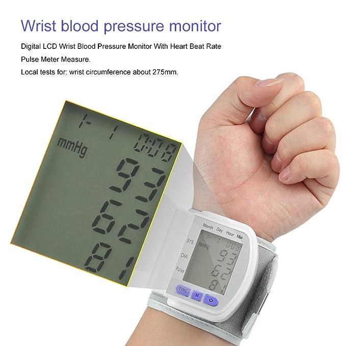 Clio Clinic B- Tensiometro digital electrónico de muñeca tensión arterial.: Amazon.es: Salud y cuidado personal