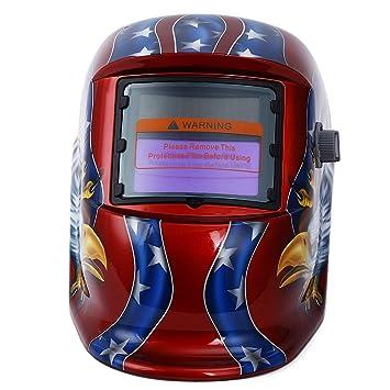 CN-Culture Solar Energy Máscara Protectora de Soldadura eléctrica ...
