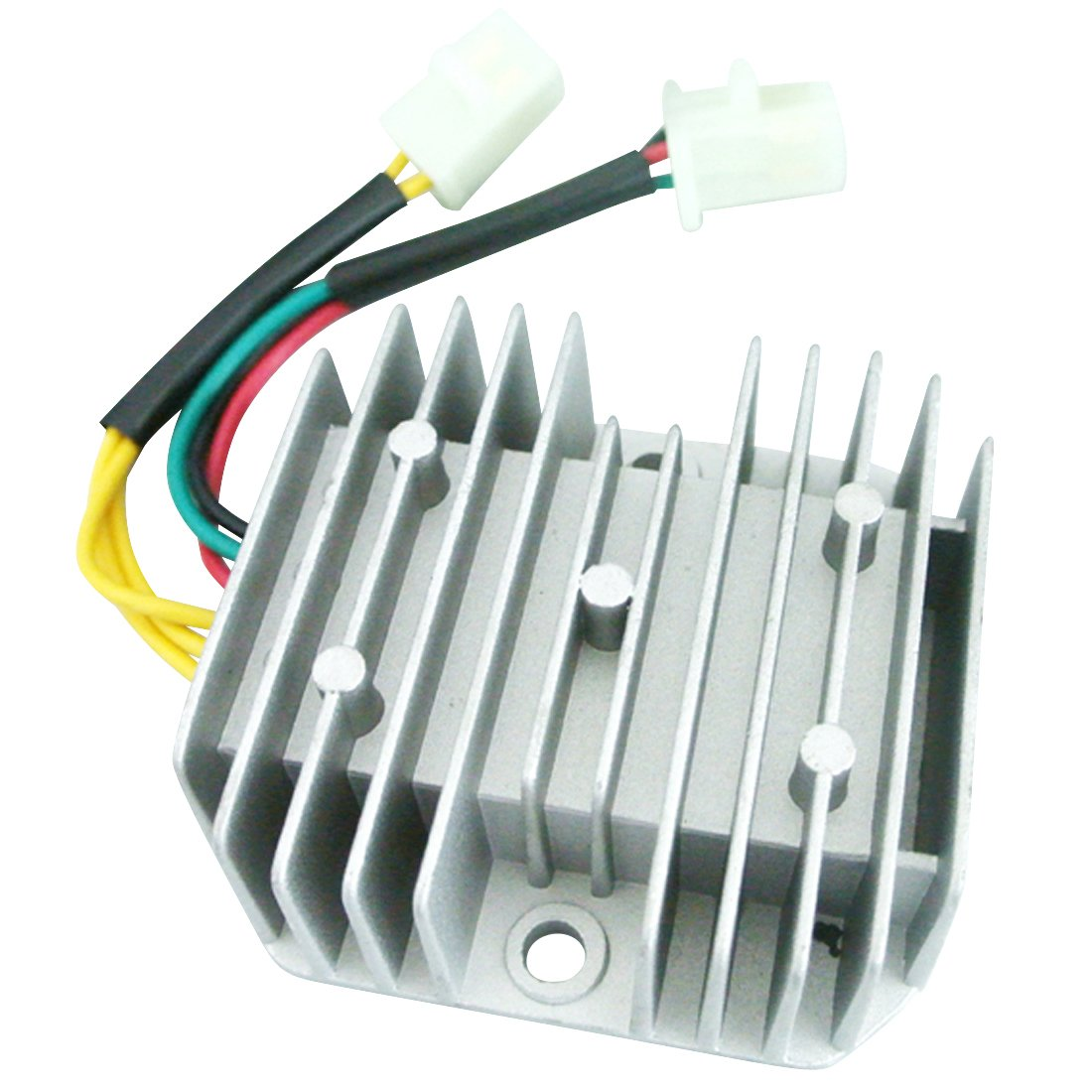 Amazon.com: New 12V 6-Wire DC Voltage Regulator Rectifier For GY6 ...