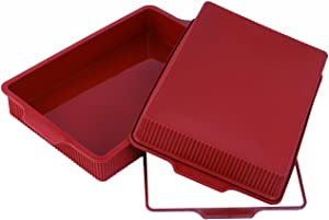 Silikomart SFT332/C Silicone Classic Collection Lasagna Pan, 13 by 9-Inch
