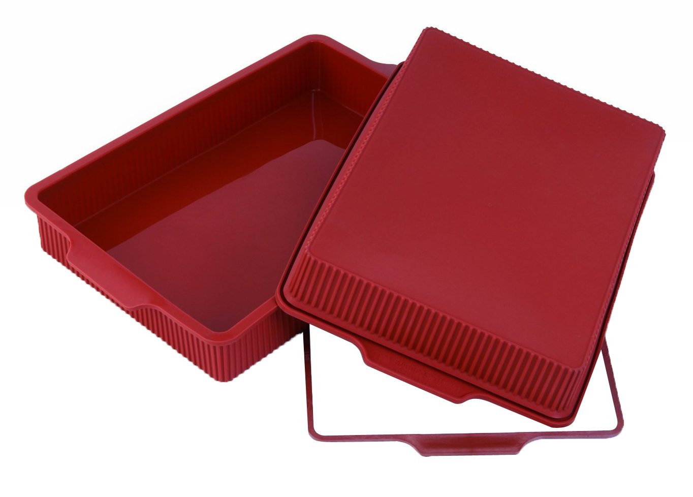 Silikomart SFT332/C Silicone Classic Collection Lasagna Pan, 13 by 9-Inch by Silikomart