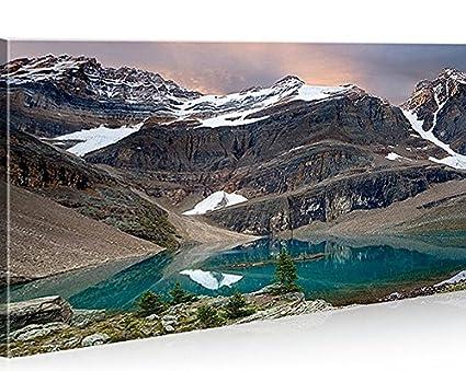 Quadro moderno Fiordi la Noruega Impresión sobre lienzo ...