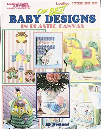 Book Our Best Baby Designs in Plastic Canvas