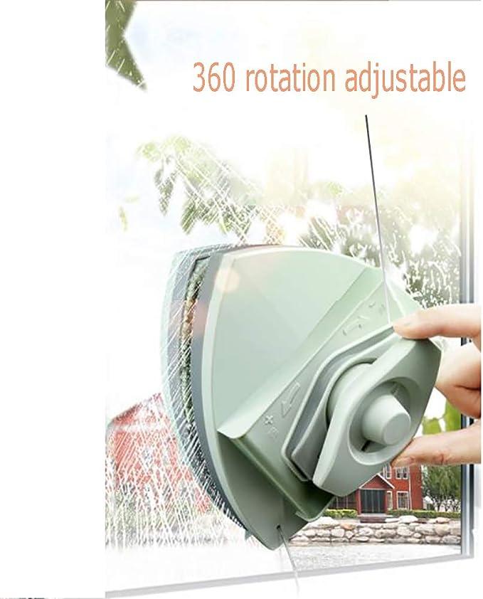 FYRS Artefacto De Vidrio con Alto Poder De Limpieza, Cepillo De Esponja, Malla Magnética, Rotación De 360 °, Adecuado para Vidrio En Cualquier Lugar,TelescopicRod: Amazon.es: Hogar