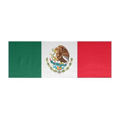 Amazon.com: Bandera de México Esterilla de yoga mat, 72