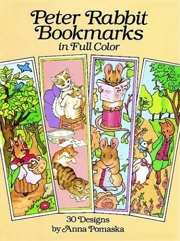 (Peter Rabbit Bookmarks in Full Color: 30 Designs (Large-Format Bookmarks))