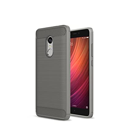 Amazon xiaomi redmi note 4x case soft silicon shockproof xiaomi redmi note 4x case soft silicon shockproof luxury brushed case with texture carbon fiber stopboris Image collections