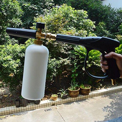 lemonbest professional car washing foam cannon lance high pressure adjustable snow foamer car