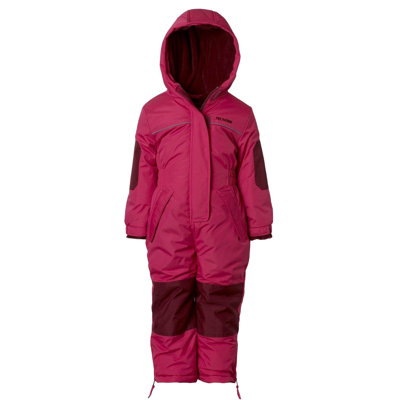 Pink Platinum Girls' Snowmobile Snowsuit