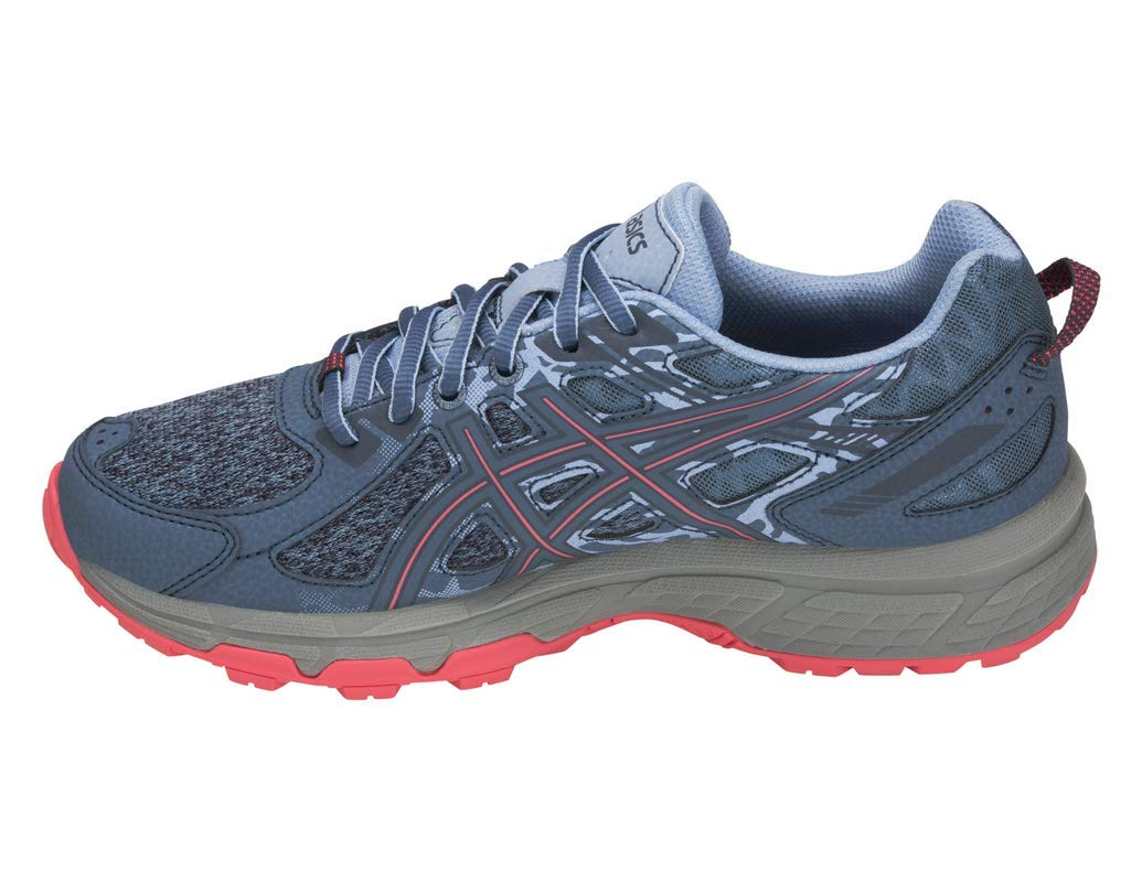 ASICS Gel-Venture 6 MX Women's Running Shoe, Steel Blue/Pink Cameo, 5 M US by ASICS (Image #2)