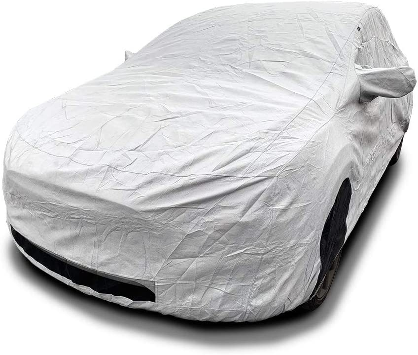 CarsCover Custom Fit Tesla Model X SUV Car Cover Heavy Duty All Weatherproof Ultrashield Covers
