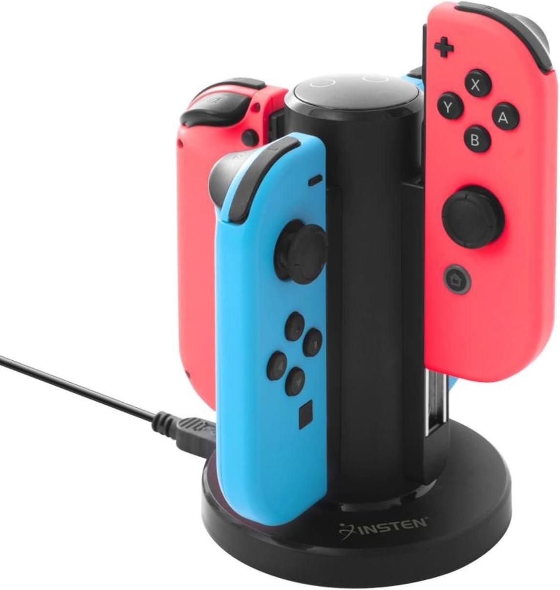 Amazon.com: Insten Joy-Con USB Charging Dock for Nintendo Switch ...