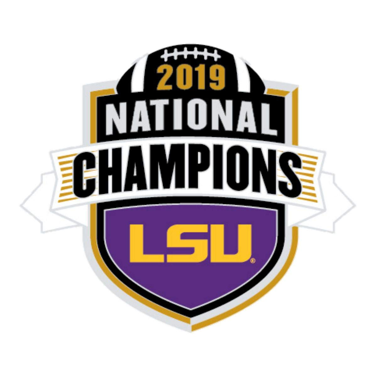 WinCraft LSU Tigers 2019-2020 CFP National Champions Collectible Lapel Pin