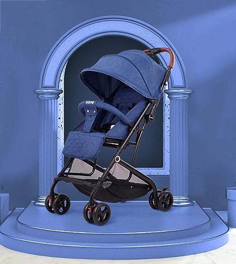 Opinión sobre G.Z Cochecito de Lujo para bebés, aleación de Aluminio Ultraligero y Carro de bebé Simple, Puede Sentarse y reclinar el Carro de bebé para niños, Cochecito de bebé con Amortiguador Frontal