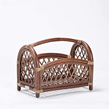 Magazine Newspaper Baskets Rack Storage Basket Desktop Floor Bookshelf