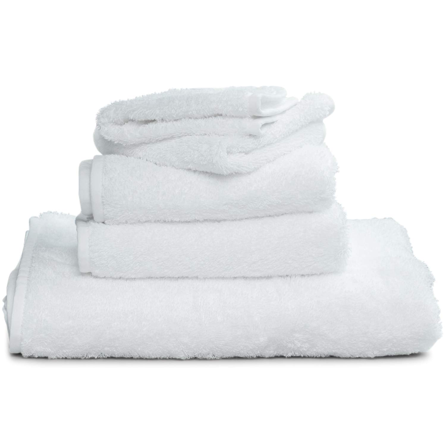 Winter Park Towel Co. White Supima Bath Sheet (40 x 70) - Extra Large Luxury - Added Loop to Hang from Hook - Made of 100% USA Grown Cotton Oeko-TEX Certified