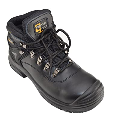 f346bf4fc27 Grafters Extra Wide Safety Work Boot for Men n 3E Fitting