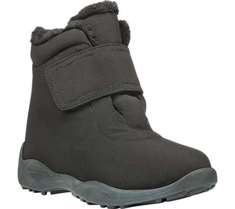 Propet Women's Madison Ankle Strap All Weather Boot B01MZ9T1PS 8 4E US|Black Nylon