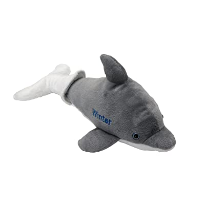 Winter The Dolphin Removable Tail Plush: Toys & Games
