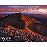 Colorado Fourteeners 2018 Deluxe Wall Calendar