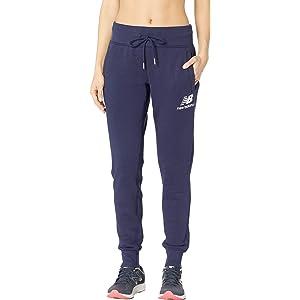 ab29aeba56d9e Amazon.com: New Balance Women's Sport Style Pants, Athletic Grey ...