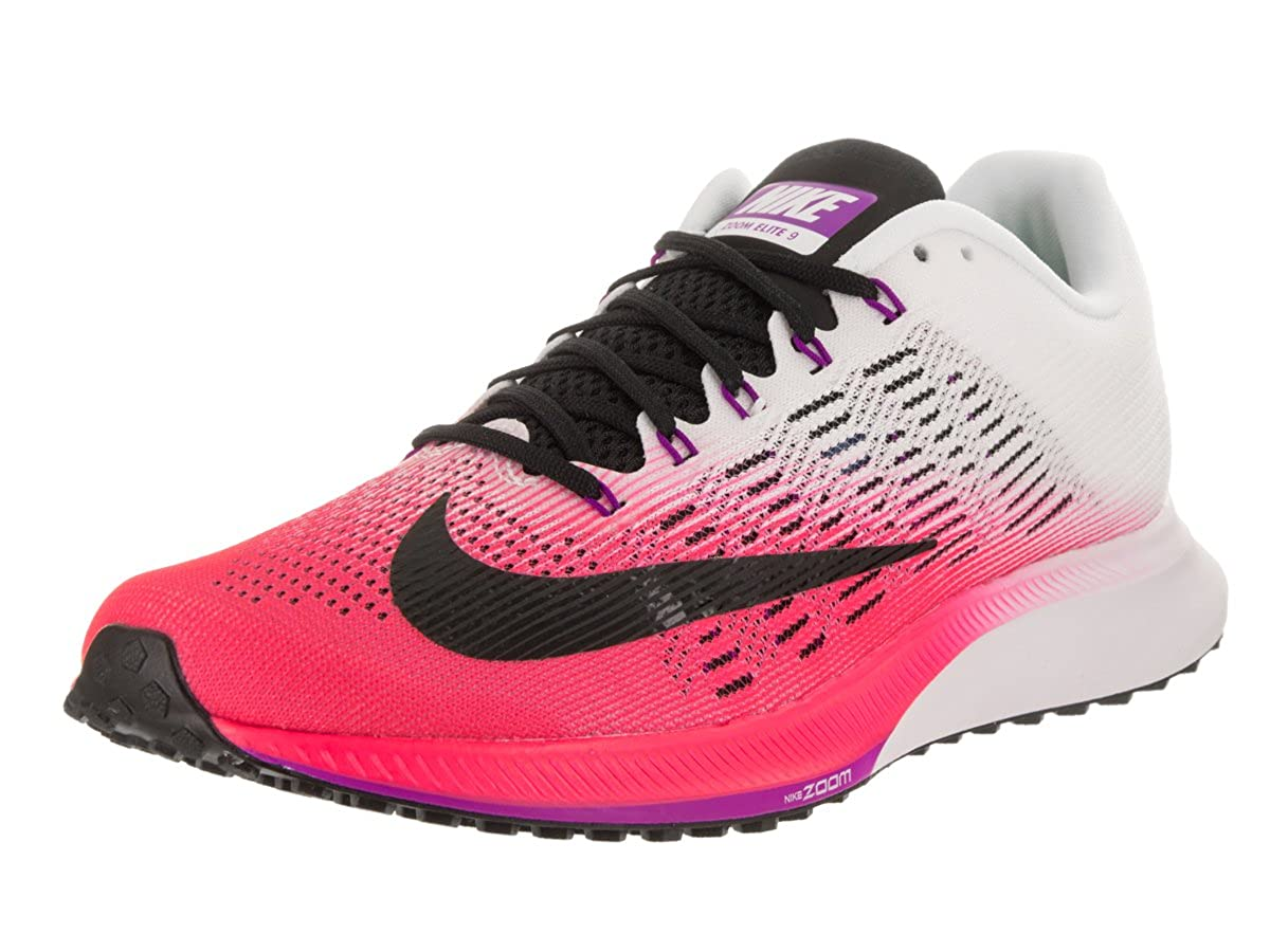 huge discount 6f985 5e9e3 Nike Women's Air Zoom Elite 9 Pink Running Shoe 6
