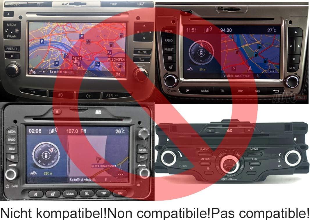 Blaupunkt A03 A05 A06 A071 A08 Lancia Ypsilon Delta Bluetooth Audio pour Alfa Romeo 147 156 159 Mito Giulietta Brera GT Spider Fiat 500 Bravo Doblo Ducato Panda Punto Stilo Idea Croma Palio