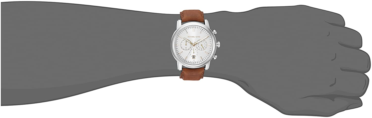 5a6a7ec36fc2 Amazon.com  Michael Kors Men s Pennant Brown Watch MK8372  Michael Kors   Watches