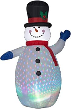Amazon.com: Gemmy Winter - Figura decorativa, diseño de ...