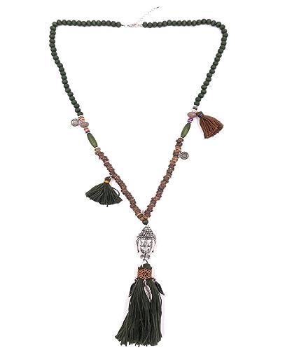 Bellissima Pompon Accessoire Collier Long Bijoux Sautoir Fantaisie j5RqL4A3