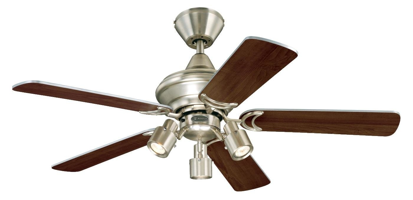 Westinghouse Kingston Ceiling Fan with LED Compatible - Brushed Aluminium 7211440