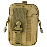 1000D Oxford Waist Bag Compatible Tactical Molle EDC Outdoor Gear Travel Cycling Camping Hiking Sports Bag