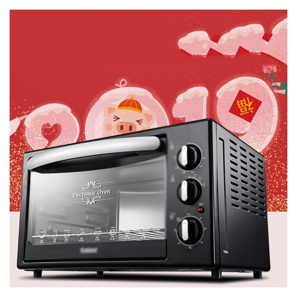 激安正規  NKDK B07PLVPYFZ オーブンミニオーブン電気グリル、タイマーラック付き1500W(黒)高速加熱トースターオーブンテーブルトップの使用に十分な小ささ NKDK B07PLVPYFZ, GINZA XIAOMA:18ba125c --- casemyway.com