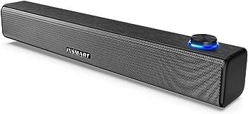 Insmart USB Powered & Aux Connection Mini Desktop Soundbar Speaker