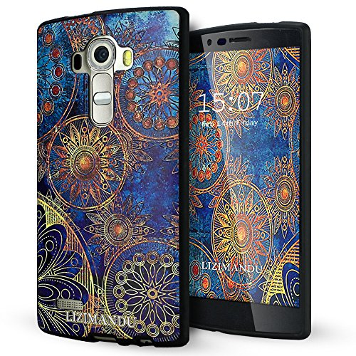 case Lizimandu textured pattern Flower