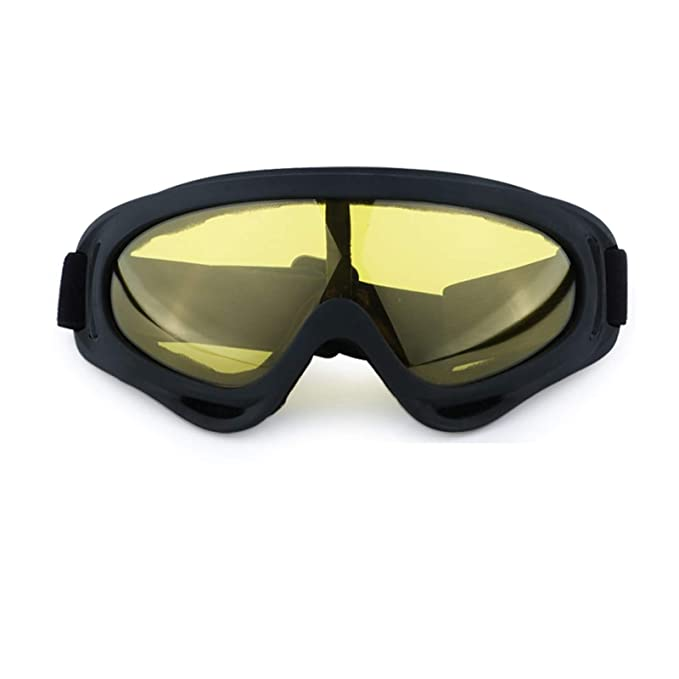 Beydodo Gafas de Nieve Gafas de Hombre Gafas de Moto Gafas Mujer Gafas Hombre Gafas de Hombre de Seguridad Gafas Protectoras Amarillo: Amazon.es: Ropa y ...