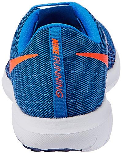Nike Flex Fury 2, Zapatillas de Running para Hombre Azul (Pht Bl / Ttl Orng-Dp Ryl Bl-Whit)
